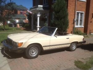 1980 Mercedes 450SL for sale