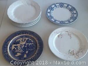 Lot Antique Plates