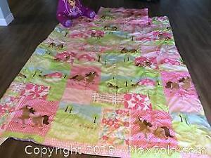 Twin Horse Comforter