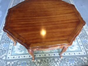 Vintage Queen Anne style coffee table