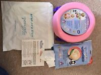 Pink travel potty / toilet seat