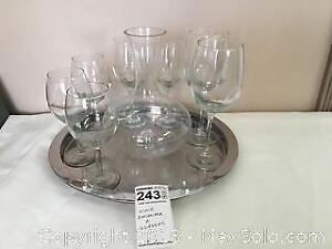 Wine Decanter And Glasses - A