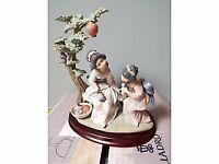 Lladro Collection - many retired pieces - 17 pieces mostly oriental in theme