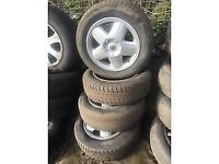 RENAULT 15 INCH ALLOY WHEELS 175/65R14