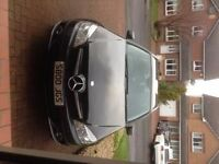 Mercedes C220 Black good condition full service history- automatic