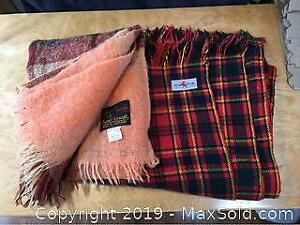 Wool And Mohair Scottish Made Blankets