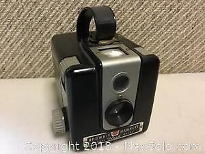 Vintage kodak Brownie Hawkeye Box Camera