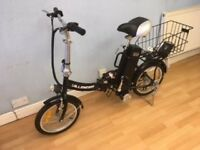 Dillenger electric folding bike