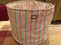 Lazzari Storage tubs - Pink or stripy version