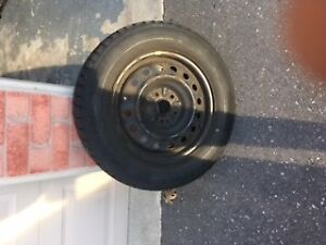 Toyota Sienna Rim with TPMS Original Equipment Manufacturer