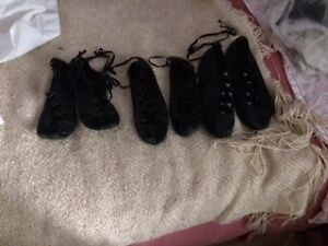 HIGHLAND DANCE SHOES FOR SALE  3 Pair