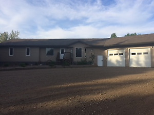 Dream Acreage with newer home and Shop near Stettler $655,000