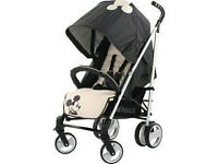 EXDISPLAY HAUCK SPIRIT IN CLASSIC MICKEY DESIGN PRAM PUSHCHAIR BUGGY FROM BIRTH UNISEX