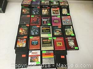 Atari 2600 Game Lot Of 29 Cartridges