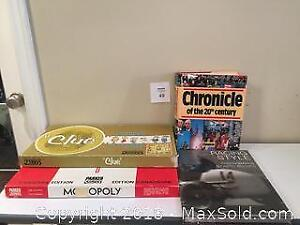 1960's Board Games: Monopoly Canadian Edition & Clue