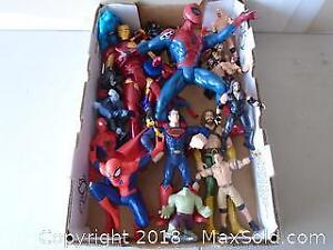 Super Heroes Figurines and more