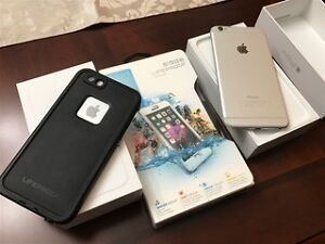 Iphone 6 and Iphone 6plus both with life cases Cambridge Kitchener Area image 2