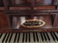 Piano , upright, high quality ,needs tuning, buyer collects
