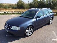 Audi A6 Avant 2.5 TDI SE 5dr,AUTOMATIC,FULL SERVICE,3 OWNERS,HPI CLEAR,2 KEYS