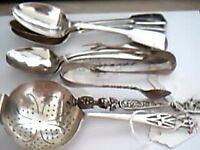silver spoons job lot
