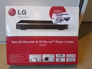 LG Twin HD Recorder and 3D Blu-ray Player Combo - New, never used Braddon North Canberra Preview