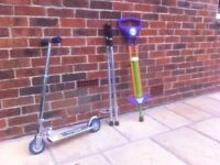 Scooter/stilts/pogostick one price for all.