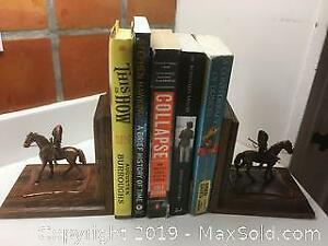 Copper 1st Nation Bookends