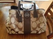 Tan Coach Handbag Purse