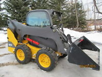 2013 Volvo MC95C Skid Steer And Attachments