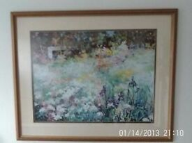 lovely floral print for sale