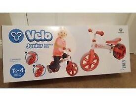 Yvolution Y Velo Junior Balance Bike - Red brand new