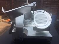Commercial electric meat slicer Omega made in Italy