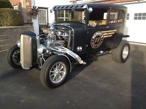 '31 Ford Hot Rod & Harley Davidson Ironhorse for sale