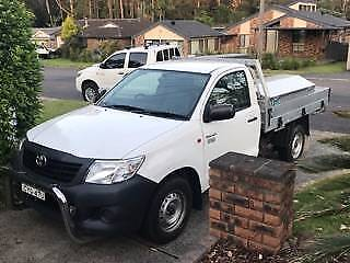 Toyota Hilux Workmate Ute