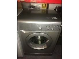 6KG SILVER INDESIT WASHING MACHINE