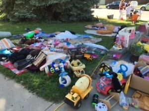 CHESHIRE HOMES GIGANTIC INDOOR & OUTDOOR FUNDRAISING GARAGE SALE