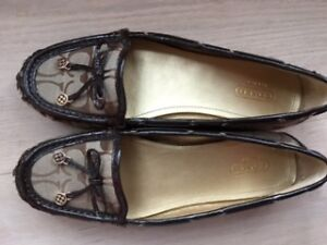 Brand new COACH flat shoes
