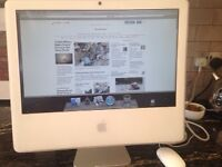 Apple Imac, keyboard, mouse, wireless keyboard