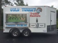 Refrigerated Event/Drink Trailer