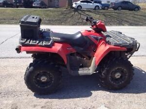 2009 Polaris Sportsman HO