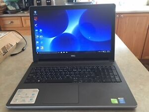 Laptop  Dell INSPRION 15 Intel core i7