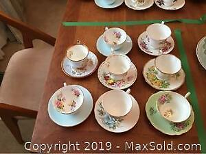 Tea Cups and Saucers 1 A