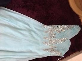 Elegant turquoise dress size 12