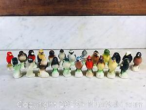 Large Collection of 1960s Tender Leaf Tea Ceramic Birds