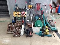 Selection of tools for sale