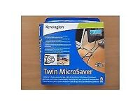 Kensington-twin-microsaver-laptop-notebook-lock-model-64025-new-boxed/1281446388