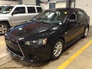 2012 Mitsubishi Lancer SE Sportback Loaded with leather and sunr