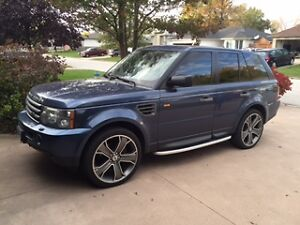 2006 Land Rover Range Rover Sport SUV, HSE