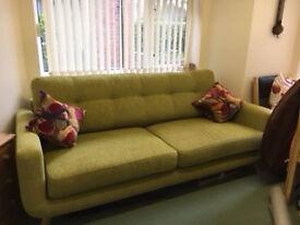 Sofa and Armchair (John Lewis Barbican Range)