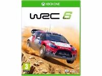 WRC 6 - XBOX 1 ONE GAME Played twice
